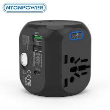 <b>NTONPOWER Universal</b> International <b>Travel Adapter</b> Electric Plug ...