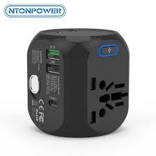 <b>NTONPOWER Universal</b> International <b>Travel</b> Adapter Electric Plug ...