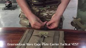 <b>EmersonGear</b> Navy Cage Plate Carrier <b>Tactical</b> CPC VEST ...