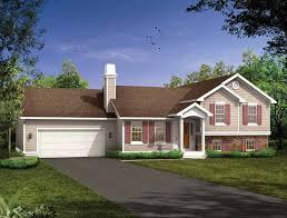 Split Level House Plans at eplans com   House Design PlansTemp