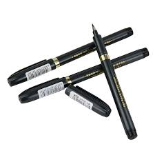 <b>3 pcs</b>/<b>lot</b> Soft Brush Calligraphy neutral Pen <b>Multifunction</b> Pen Office ...