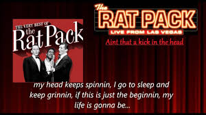 The <b>Very</b> Best of the <b>Rat Pack</b> - Dean Martin - Ain't that a kick in the ...