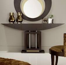 hall table decor clear