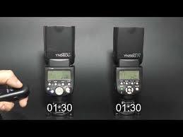 <b>Yongnuo YN560Li</b> & <b>Yongnuo</b> YN560IV. Время перезаряда.