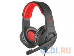 <b>Наушники</b> (<b>гарнитура</b>) Trust GXT 310 <b>Black</b>/Red — купить по ...