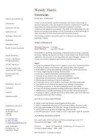 electrician resume sample india electrician resume sample