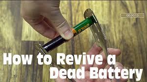 How to Revive a Dead (<b>AA</b>/<b>AAA</b>) <b>Battery</b> - YouTube