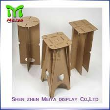 china full color printing recycled cardboard furniture foldable cardboard chair for sale cardboard furniture for sale