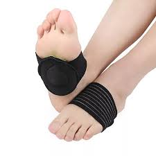 fashion Elastic Relief Achy Pain Feet Cushioned Arch Support ...