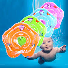 <b>Swimming Baby Pools Accessories</b> Baby Inflatable Ring Baby Neck ...