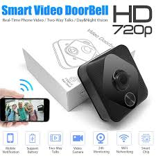 <b>Smart</b> Wireless Phone Door Bell Camera <b>WiFi Smart</b> Video Intercom ...