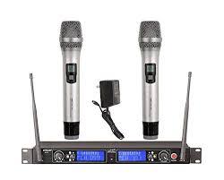 GTD Audio G522H 2x100 Channel UHF <b>Professional Wireless</b> ...