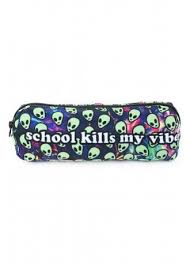 <b>School Kills My Vibe</b> Pencil Case   Attitude Clothing