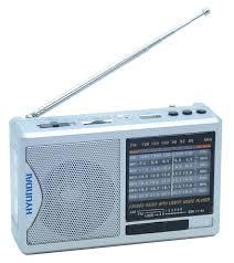 Купить <b>Радиоприемник HYUNDAI H-PSR160</b>, серебристый в ...