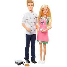 <b>Игровой набор Mattel</b> Барби и Кен шеф-повар