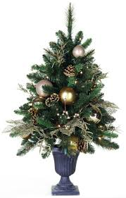 3' <b>Royal</b> Gold <b>Battery</b> Operated Table Top Potted <b>Tree</b> | <b>Christmas</b> ...