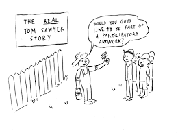 pablo helguera  blog archive  artoons the real tom sawyer