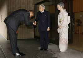 """Résultat de recherche d'images pour """"obama saluant hiro hito"""""""