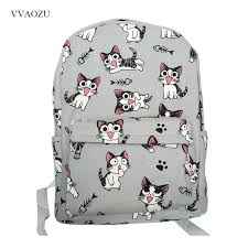 Preppy Style <b>Chi's Sweet</b> Home Backpack Cat Shoulder Bags 3 ...