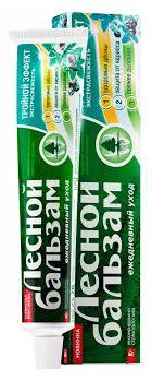 Купить <b>Зубная паста</b> «<b>Лесной Бальзам</b>» Тройной эффект, 75 мл ...