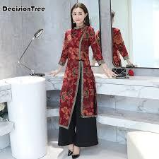 <b>2019</b> summer <b>asian clothing aodai</b> vietnam cheongsam more ...