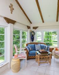 Sunroom Embracing Warmth 25 Mediterranean Inspired Sunrooms For A Cozy