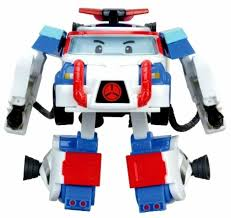 <b>Трансформер Silverlit</b> Robocar Poli 10 см с костюмом водолаза ...