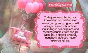 Sweet 16 Birthday Daughter Quotes via Relatably.com