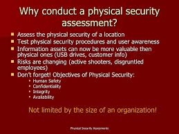 4 why conduct a physical security corporate physical security jobs