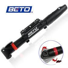 2019 <b>BETO</b> CMP 004 <b>Bicycle Pump</b> Portable Swing Head Bike Mini ...