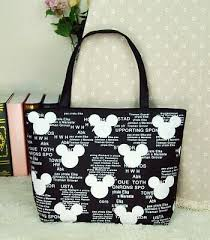 Disney <b>Mickey mouse Cartoon lady</b> Bag Shoulder High capacity ...
