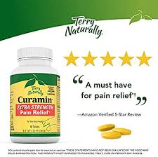 Terry Naturally <b>Curamin Extra Strength</b> - 60 Vegan Tablets - Non ...