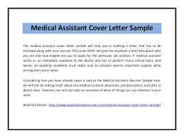 example cover letter for medical  tomorrowworld coexample