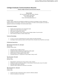 resume for college graduate  seangarrette coresume for college graduate resume for recent