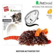 <b>GiGwi</b> Мышка со звуковым чипом электронная <b>игрушка</b> для кошек ...