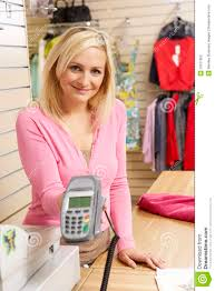female s assistant in clothing store stock photography image female s assistant in clothing store