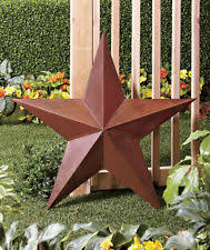 metal star wall decor: rustic country large metal outdoor wall garden yard art barn star garage decor