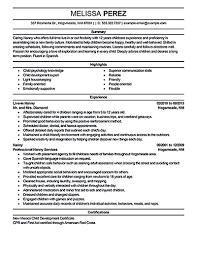 nanny resume example sample caregiver  tomorrowworld conanny resume sample nanny resume sample sample nanny resume ideas   nanny resume