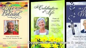 how to create a memorial program template on ms word funeral customize your own template for funerals in ms word funeral program site