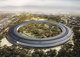 an artists rendering provided to the media in 2012 shows the planned apple campus which apple cupertino office