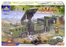 <b>Конструктор Kazi</b> Полевая армия 84038 <b>Радиотехнические войска</b>