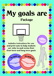 grade year level secondary education year goal goal setting basketball printables shooting long term short term goals aims dreams