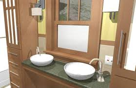 arts crafts bathroom vanity: bathroom remodeling in lincoln nebraska craftsman bathroom final craftsman bath remodel designclick click to enlarge