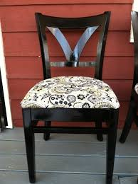 Reupholstering Dining Room Chairs Reupholstered Dining Chairs Diy Solutions Pinterest Dining