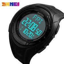 <b>SKMEI</b> Electronic Watches Mens <b>Countdown Stopwatch</b> ...