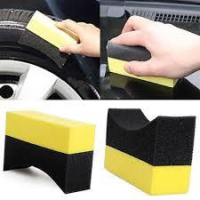 2/5/10Pcs <b>Car Professional Tyre Tire</b> Dressing Applicator Curved ...