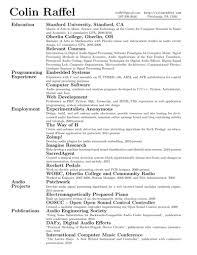 R  sum   or curriculum vit    CV  in LaTeX    Alec     s Web Log Colin     s resume