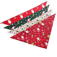 Lamphyface <b>Dog</b> Bandana <b>Christmas Pet</b> Triangle Head Scarf ...