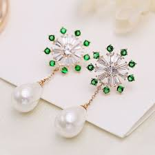 Earrings With Silver Needles And Drops in 2020 | Earrings ...