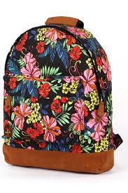 <b>Рюкзак MI-PAC Premium Floral</b> (Tropical Neon Black) | www.gt-a.ru
